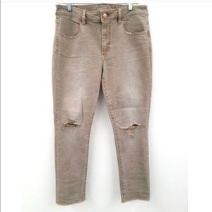 American Eagle Cropped Jegging